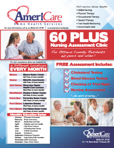 AmeriCare 60 Plus Clinic